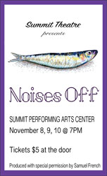 Noises Off Poster