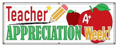 Teacher Appreciation Week at TAH May 7-11